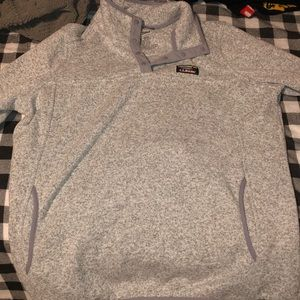 L.L.Bean Snap Fleece